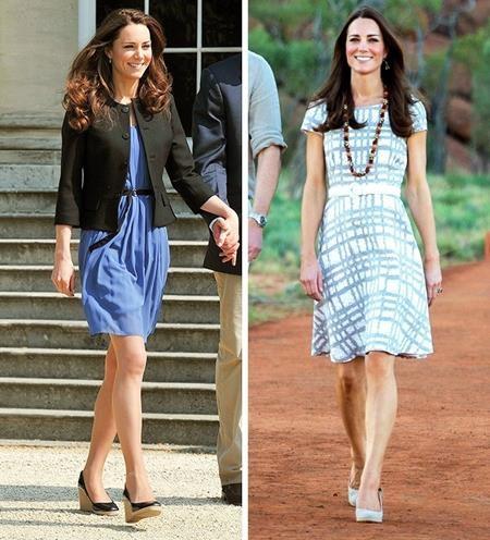 """Công nương Kate Middleton thực sự là một tấm gương sáng cho nhiều người học tập khi sống trong môi trường hoàng tộc nhưng Công nương vẫn chỉ dùng đồ """"bình dân"""" không quá đắt tiền và tập trung cho hàng loạt các hoạt động từ thiện có ích, giúp đỡ cho người vô gia cư hay cựu chiến binh."""
