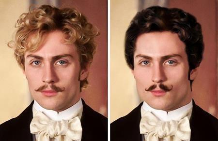 """Việc Count Vronsky trong bộ phim """"Anna Karenina"""" có mái tóc vàng bồng bềnh cũng là hoàn toàn trái nguyên tác"""