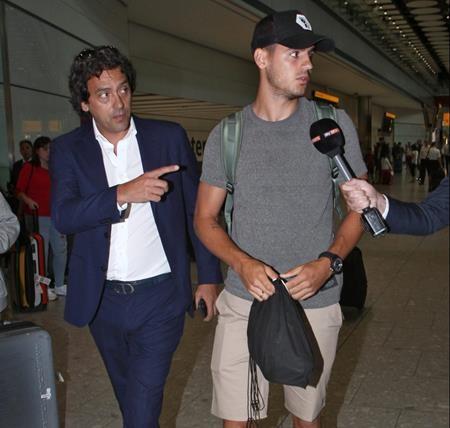 Người đại diện của Alvaro Morata cũng có mặt trong chuyến đi