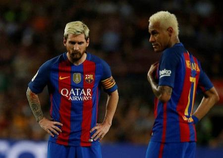 Mối quan hệ giữa Neymar và Messi đang rất được chú ý
