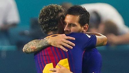 Neymar đã tạm biệt Messi và các đồng đội?