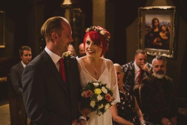 Maddie và Matt đã tổ chức một đám cưới phá cách