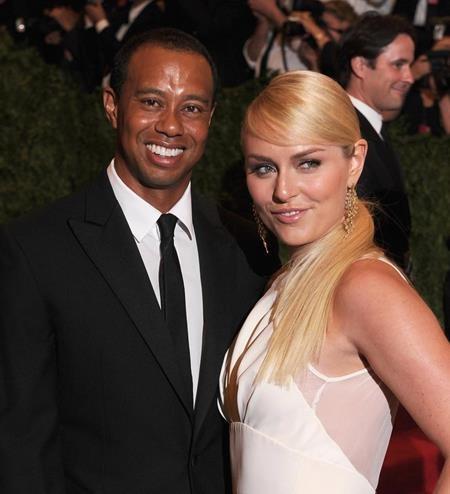 Tiger Woods và Lindsey Vonn từng là đôi tình nhân nổi tiếng nhất trong giới thể thao