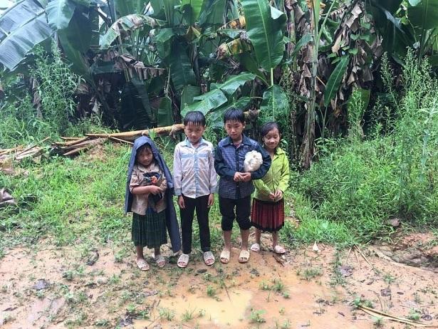 Nhiều gia đình đến cái ăn còn không đủ, không có sách vở, đồ dùng mới nhiều em học sinh vùng cao rất ngại đến trường (ảnh: CTV)