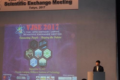 Đại sứ Nguyễn Quốc Cường phát biểu chúc mừng Hội nghị (ảnh: Quang Đức).