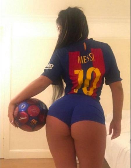Suzy Cortez từng nhiều lần tỏ tình với Messi