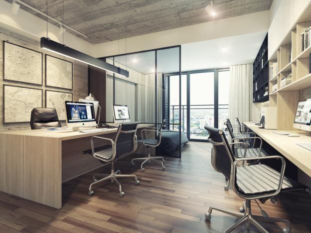 Office-tel tại Lancaster Lincoln được thiết kế linh hoạt đảm bảo chức năng lưu trú và văn phòng hiện đại