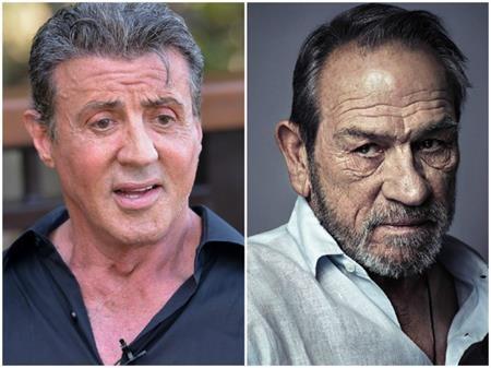 """Rất nhiều người ngạc nhiên khi khám phá ra rằng hai """"cây đa, cây đề"""" tại Hollywood, Sylvester Stallone và Tommy Lee Jones hóa ra lại có cùng năm sinh"""