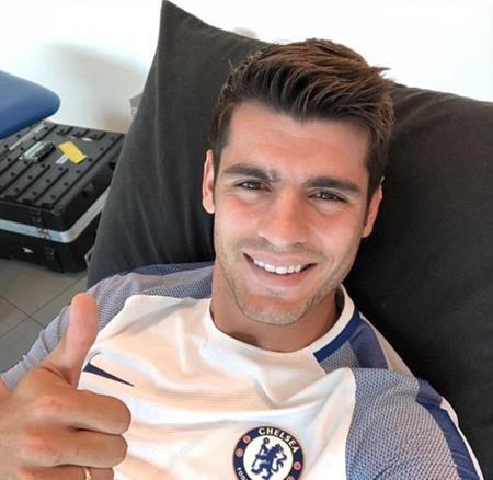 Morata đang gấp rút tập luyện mong ngày trở lại