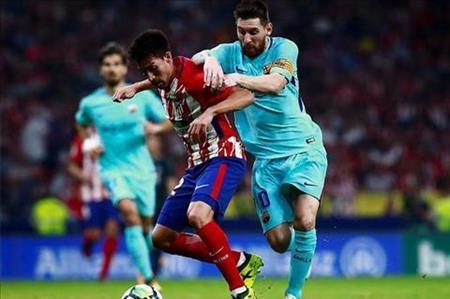 Messi vừa trải qua một trận đấu khó khăn tại La Liga