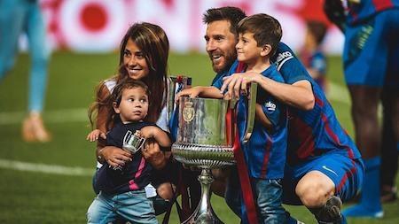 Gia đình Messi sắp có thêm thành viên thứ năm