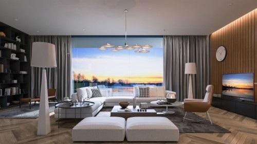 Với chiều dài phòng khách khoảng 4m, khoảng cách từ mắt người xem đến TV tối ưu là 2.5m, thì TV 50 inch trở lên là phù hợp