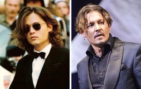 """Johnny Depp từ xưa đã nổi danh với vẻ đẹp trai, hấp dẫn chết người. Và khi đã lớn tuổi hơn, nam tài tử tuy chẳng còn trẻ trung như trước nhưng vẫn toát lên nét quyết rũ """"đốn tin"""" fans nữ."""