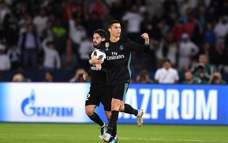 C.Ronaldo vừa ghi bàn trong trận gặp Al Jazira