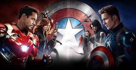 """… và """"Captain America: Civil war"""" cũng bị tải lậu rất nhiều"""