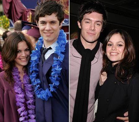 """Bộ phim """"The O.C."""" nổi tiếng cũng đã se duyên cho hai ngôi sao Adam Brody và Rachel Bilson. Chỉ đáng tiếc là tương tư """"đứt gánh giữa đường"""" và việc cặp sao chia tay đã khiến cho không ít fan hâm mộ cảm thấy tiếc hùi hụi."""