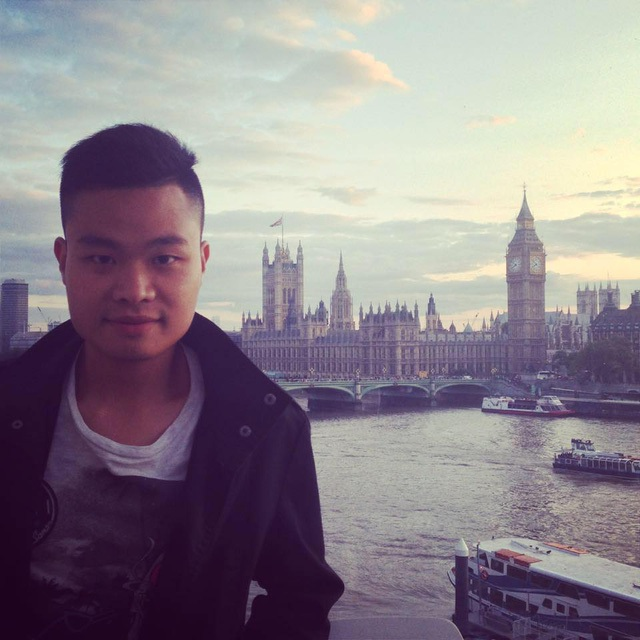 Anh Trịnh Vương Anh tại London (Vương Quốc Anh).