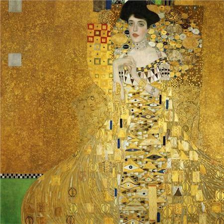 """Gustav Klimt còn có một kiệt tác khác là """"Portrait of Adele Bloch-Bauer I"""""""
