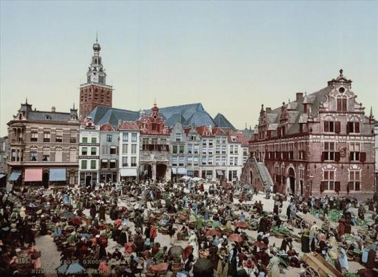 Bộ ảnh về đất nước Hà Lan những năm 1890s qua các tấm bưu thiếp - 4