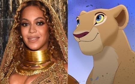 """Các fan hâm mộ rất muốn Beyoncé tham gia """"The lion king"""""""