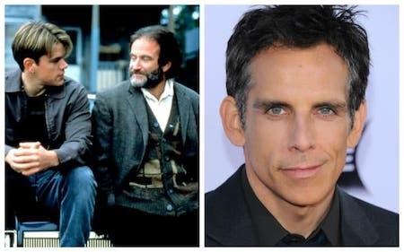 """Ben Stiller đã được mời đóng """"Good Will Hunting"""" nhưng ngôi sao này lại từ chối vì không biết đến Matt Damon và Ben Affleck, hai tác giả kịch bản của bộ phim. Dĩ nhiên, sau khi """"Good Will Hunting"""" được công chiếu, Ben Stiller đã phải cảm thấy vô cùng hối hận và hai cái tên Matt Damon, Ben Affleck giờ đây cũng đã trở nên nổi tiếng trên toàn cầu."""