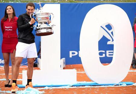 Nadal vừa lập kỷ lục tại Barcelona Open