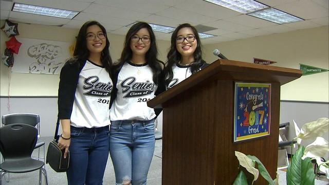 Hình ảnh trưởng thành và xinh đẹp của 3 cô gái người Việt.