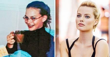 """Thành thực mà nói, """"biểu tượng gợi cảm"""" mới của Hollywood, Margot Robbie trông không thay đổi quá nhiều nhưng nhờ trang điểm, làm tóc và bỏ cặp kính ra, nàng """"Harley Quinn"""" quả thực đã """"lột xác"""" trong mắt khán giả"""