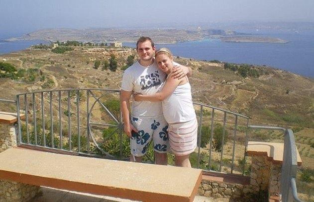 Natalie và Tom chụp ảnh vào năm 2007