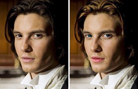 Dorian Gray trong cuốn tiểu thuyết của Oscar Wilde là một chàng trai bảnh bao với mái tóc vàng sẫm, mắt xanh hút hồn và đôi môi ửng đỏ