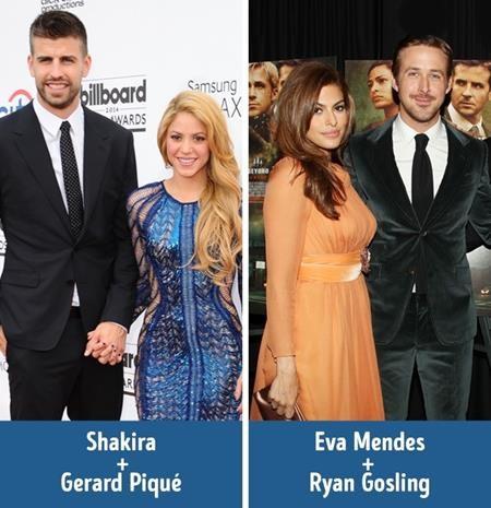 """Tình yêu luôn chiến thắng mọi sự khác biệt, giống như cách nữ ca sĩ Shakira luôn cổ vũ hết mình cho chàng cầu thủ Gerard Piqué trên sân bóng, hay Eva Mendes sẵn sàng lùi về hậu phương để Ryan Gosling tỏa sáng trong bộ phim """"La la land""""."""