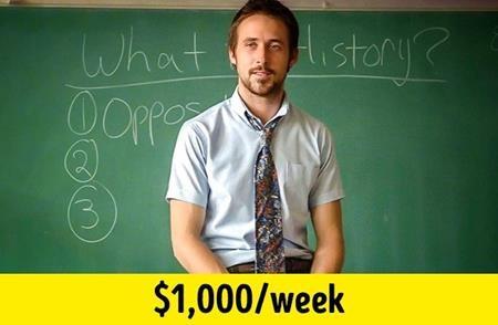 """Sau thành công của """"The notebook"""", Ryan Gosling nhanh chóng trở thành thần tượng mới tại Hollywood. Tuy vậy, nam tài tử vẫn sẵn sàng nhận mức thù lao bèo bọt là 1.000 đô la Mỹ/tuần khi đóng bộ phim kinh phí thấp """"Half Nelson"""" (2006). Đổi lại, cũng chính vai diễn trong """"Half Nelson"""" đã mang về cho Ryan Gosling đề cử Oscar đầu tiên trong sự nghiệp."""
