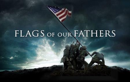 """""""Flags of our fathers"""" (2006) xoáy sâu vào trận đánh tại quần đảo Iwo Jima giữa Mỹ và Nhật, một trong những trận đánh ác liệt và đẫm máu nhất trong chiến tranh thế giới thứ hai. Bộ phim không chỉ khắc họa câu chuyện về việc dựng lên ngọn cờ chiến thắng mà còn cho thấy biết bao nước mắt và máu đã đổ xuống để có thể đổi lấy hình ảnh cờ bay phấp phới đầy oai hùng như ngày nay."""