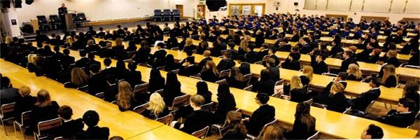 Quang cảnh gợi nhớ ngôi trường Hogwarts của Harry Porter