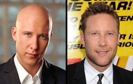 """Michael Rosenbaum đã có một vai diễn Lex Luthor hết sức thành công trong """"Smallville"""". Và dù là khi có tóc hay không thì nam tài tử vẫn gây được ấn tượng với vẻ ngoài bảnh bao, đầy lịch lãm."""
