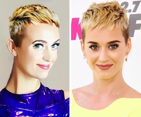 """Francesca Brown vốn là một fan """"bự"""" của Katy Perry nên cô nàng đã tìm mọi cách để mình trông giống với thần tượng đến nhường này"""
