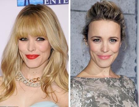 """Luôn nằm trong top những ngôi sao có diện mạo trẻ trung bậc nhất Hollywood, Rachel McAdams khi để tóc mái lại càng dễ dàng """"ăn gian"""" tuổi tác hơn"""