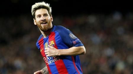 Messi đang thể hiện một phong độ rất ấn tượng trong màu áo Barca