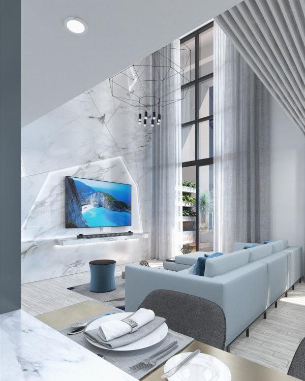 Thay vì bày biện quá nhiều đồ nội thất gây cảm giác rườm rà, thiếu sang trọng, gia chủ chỉ nên chọn lọc những món đồ nội thất thiết yếu có sự độc đáo và giá trị thẩm mỹ cao
