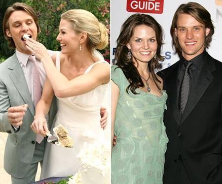 """Jennifer Morrison và Jesse Spencer cũng đã yêu nhau khi tham gia bộ phim """"The house M.D.""""."""