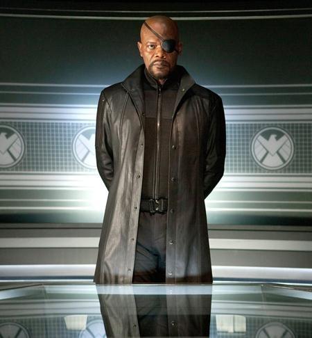 """Samuel L. Jackson cũng đã góp mặt trong rất nhiều bom tấn của Marvel như """"Iron man"""", """"The Avengers"""" hay """"Captain America: The winter soldier""""."""