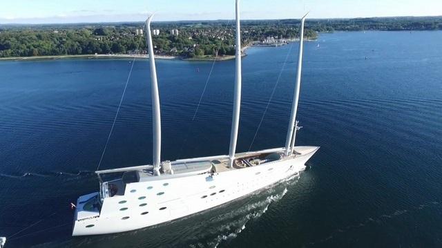 Siêu du thuyền mới đóng với giá 10.000 tỉ đồng.