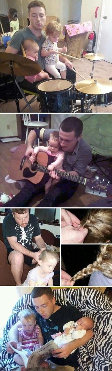 Những ông bố đơn thân tuyệt vời nhất thế giới - 5