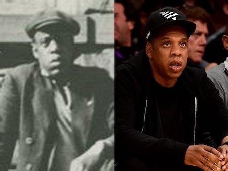"""Khi thư viện Schomburg Center for Research in Black Culture của thành phố New York cho đăng tải bức hình """"Harlem Loiters"""", các fan hâm mộ ngay lập tức đã phải """"dậy sóng"""" khi phát hiện ra sự tồn tại của rapper lừng danh Jay Z trong bức hình lịch sử này."""