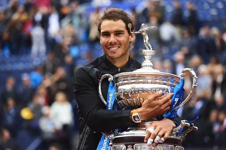 Tay vợt 30 tuổi vô cùng hạnh phúc với thành tích vừa đạt được