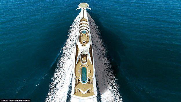 Những thiết kế siêu du thuyền mới nhất dành cho tỉ phú - 5
