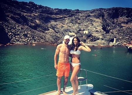 Fabio Borini đưa bà xã Erin đi nghỉ tại Santorini