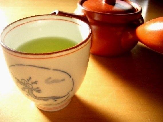 Trà xanh là thức uống hàng ngày của người dân đất nước mặt trời mọc.
