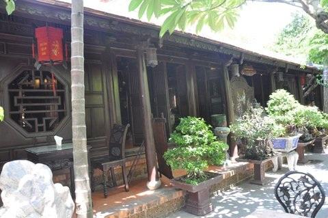 Khu nhà cổ của đại gia Lê Bá Huy
