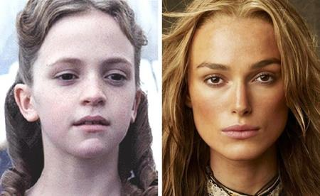 """Lucinda Dryzek chính là ngôi sao nhí thể hiện vai diễn cô tiểu thư Elizabeth Swann ngày nhỏ trong bộ phim """"Pirates of the Caribbean: The curse of the black pearl"""" và đây cũng là vai diễn gắn liền với danh tiếng của """"bông hồng nước Anh"""" Keira Knightley"""